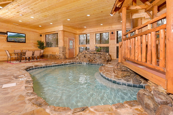 pigeon forge tn cabins copper river Cabins With Indoor Pools In Gatlinburg