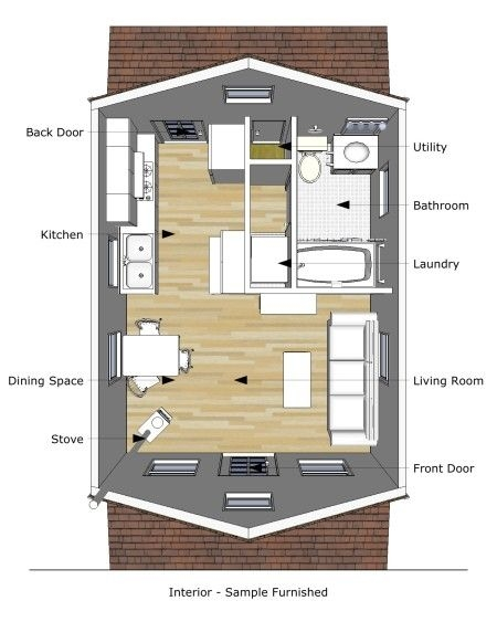 pioneers cabin 16x20 plans loft bed someday pinterest tiny 16x20 Cabin Plans With Loft