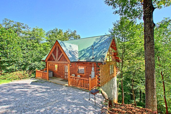 private cabin in the smokies pigeon forge gatlinburg Secluded Cabins In Tennessee