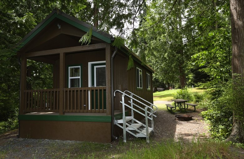 quiet hikes and undiscovered cabins at washingtons favorite state Camano Island State Park Cabins