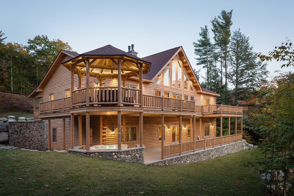 rediker log home kit large log cabin homes large gallery of homes Log Cabin Style House Designs