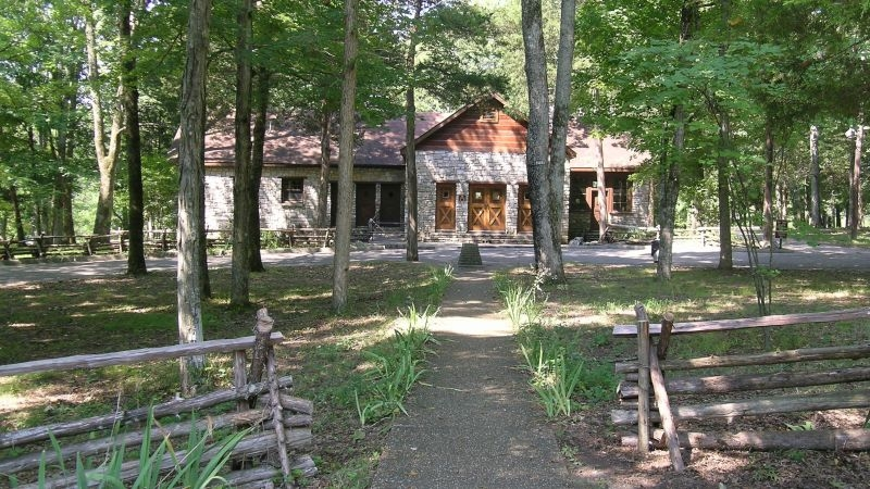 register monday for state parks family camping weekend franklin Cedar Hill State Park Cabins