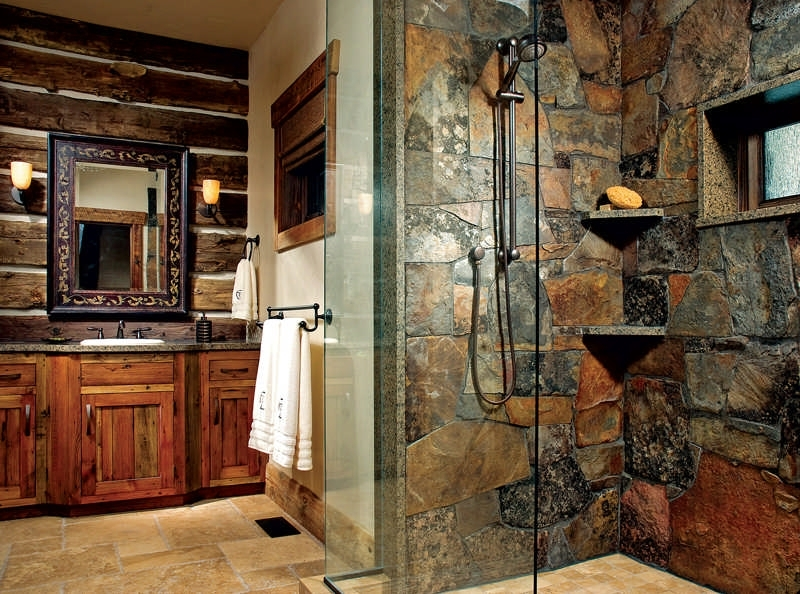 remarkable the perfect cabin kitchen or bath of bathroom accessories Cabin Bathroom Accessories