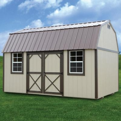 rent to own storage buildings sheds garages cabins Lofted Barn Cabin Rent To Own