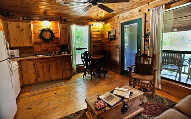 rivers edge cottages oklahoma luxury cabin rentals Couples Cabins In Oklahoma