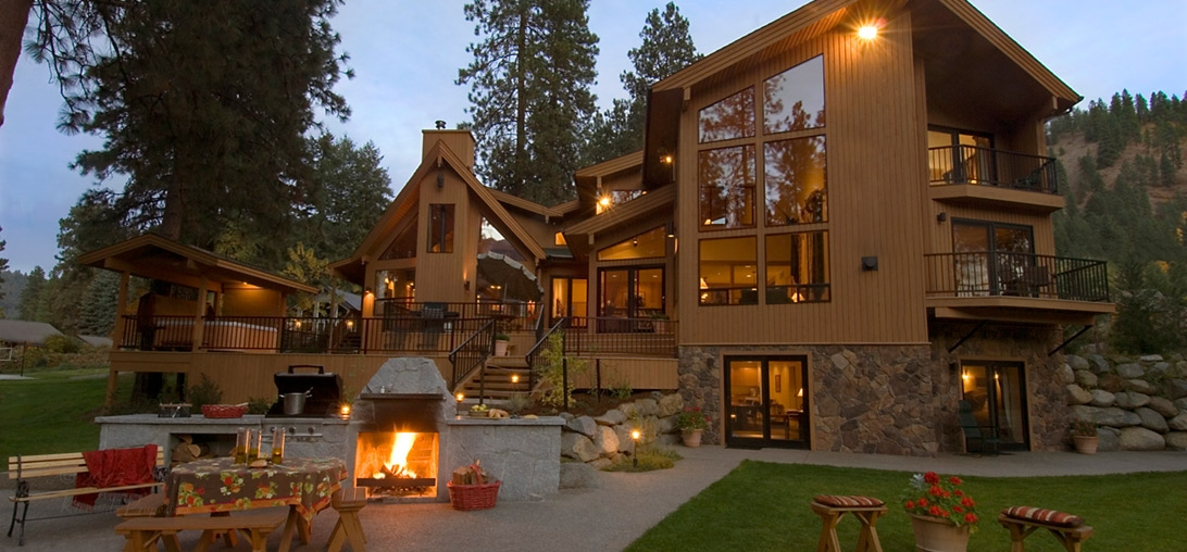 riverside vacation home voted best in the nw leavenworth wa Cabins Near Leavenworth Wa