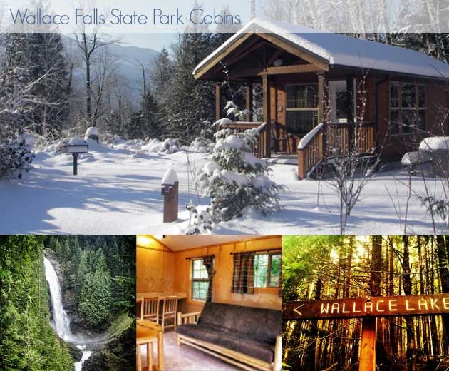 rustic retreats cabins and yurts for rent in washington northwest Washington State Parks Cabins
