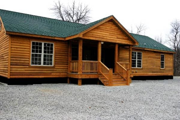 rustic single wide mobile homes bing images double wideses Double Wide Mobile Homes That Look Like Log Cabins