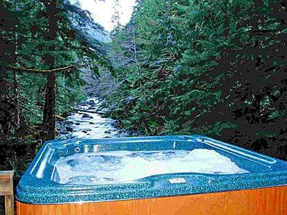 secluded cabin rental riverfront vacation lodging wa Romantic Cabins In Washington State