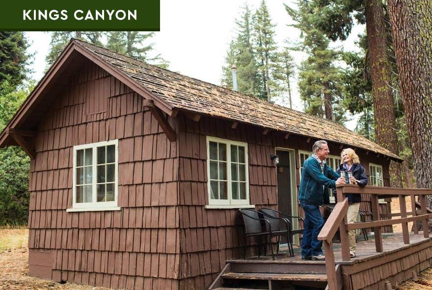 sequoia kings canyon national parks in park lodging Cabins Near Sequoia National Park