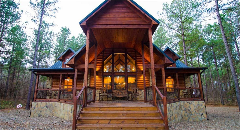 serenity point lodge cabin rentals beavers bend lodging Beavers Bend Oklahoma Cabins