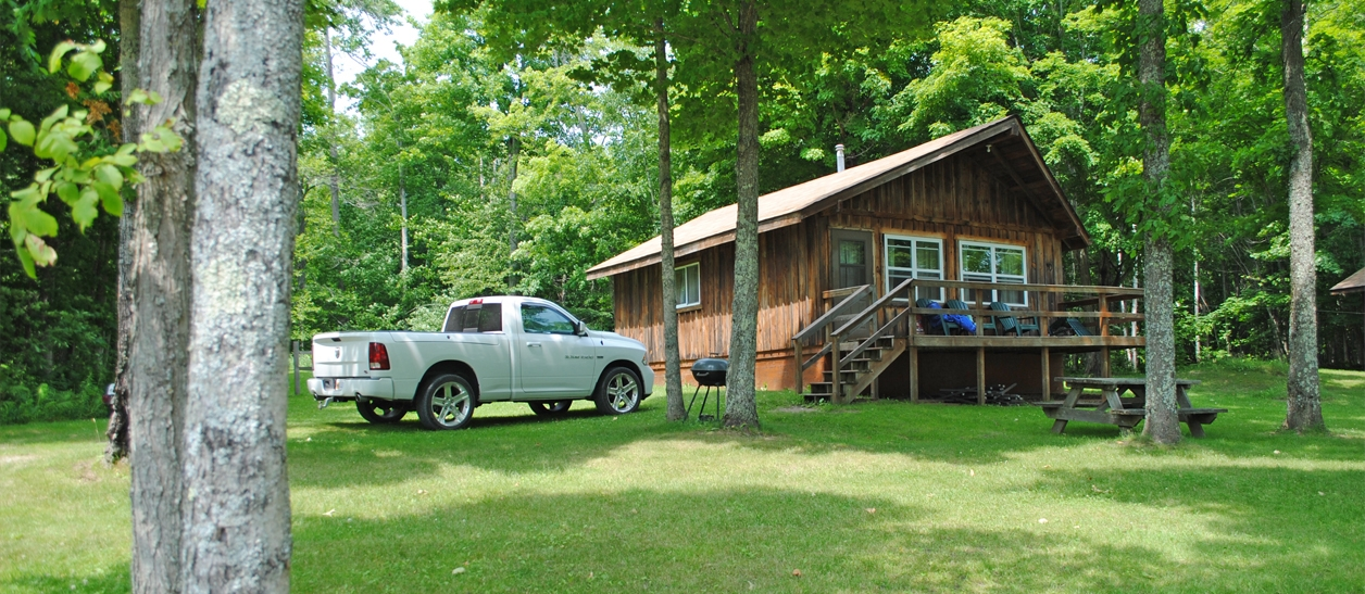 shermans resort cabin rentals campground south manistique l Campgrounds In Michigan With Cabins