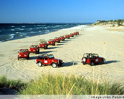 silver lake sand dunes there are pkgs for jeep rental and lodging i Silver Lake Sand Dunes Cabins