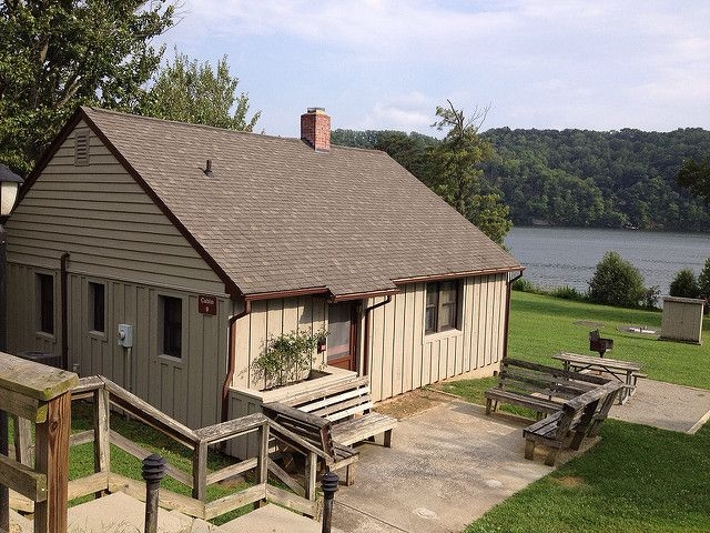 six cheap romantic getaways in virginia this is cabin 9 at claytor Virginia State Park Cabins