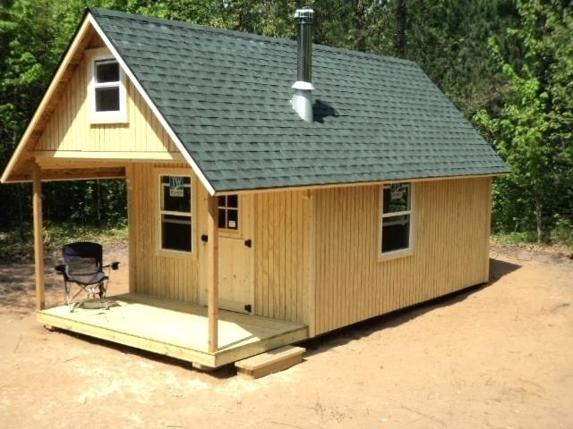 small cabin plans small cabin plans with material list small cabin Small Cabin Plans With Loft 10x20
