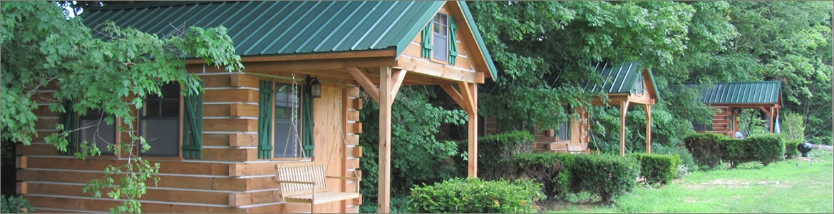 smaller cabins of hocking hills adventures Hocking Hills Camping Cabins