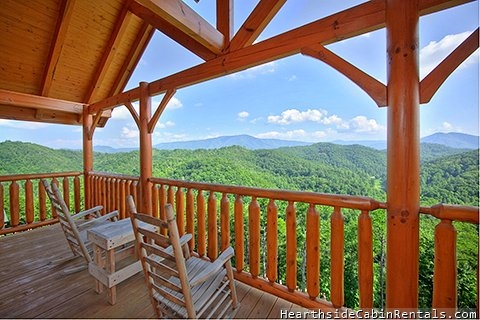 smoky mountain high 3 bedroom cabin in pigeon forge Tennessee Mountains Cabins