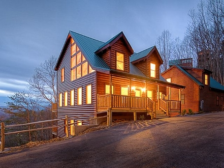smoky mountain overnight cabin rentals in gatlinburg pigeon forge Cabins In Sevierville Tennessee