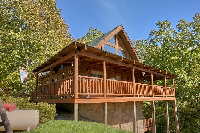 smoky mountains cabin rental bluebaery hill 3 Bedroom Cabins In Gatlinburg