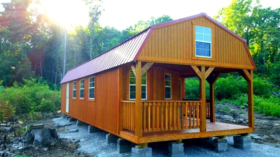 star tec deluxe lofted barn cabin price log cabin plans Deluxe Lofted Barn Cabin Price