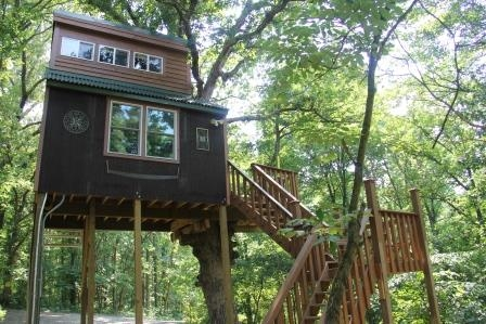 stay in a tree house in the shawnee national forest midwest wanderer Cabins In Shawnee National Forest