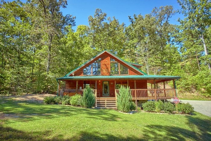 sweet seclusion secluded luxury richardson cove cabin Secluded Gatlinburg Cabins