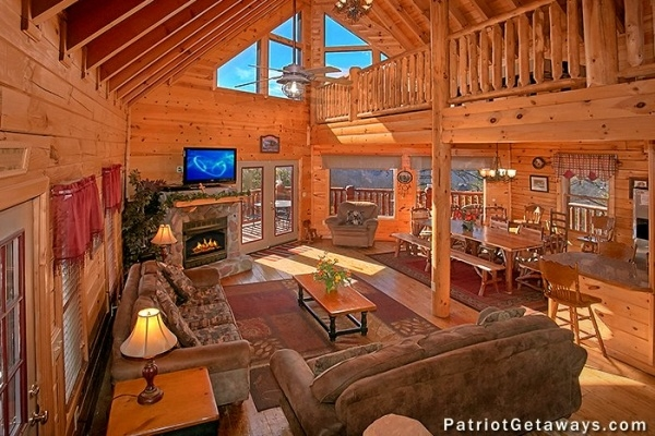 tennessee dreamer a pigeon forge cabin rental Vacation Cabins In Tennessee