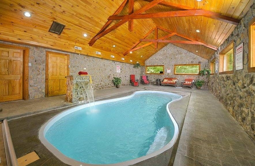 the best smoky mountain cabins with indoor pools for your winter Smoky Mountain Cabins With Pool