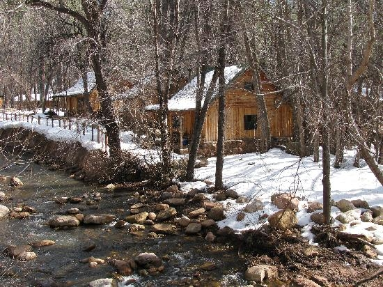 the cabin we stayed in picture of christopher creek lodge payson Christopher Creek Az Cabins