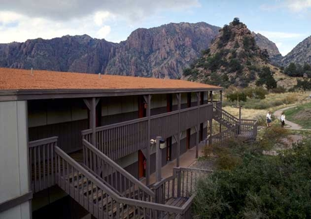 the chisos mountains lodge cabins visit big bend guides for Big Bend State Park Cabins