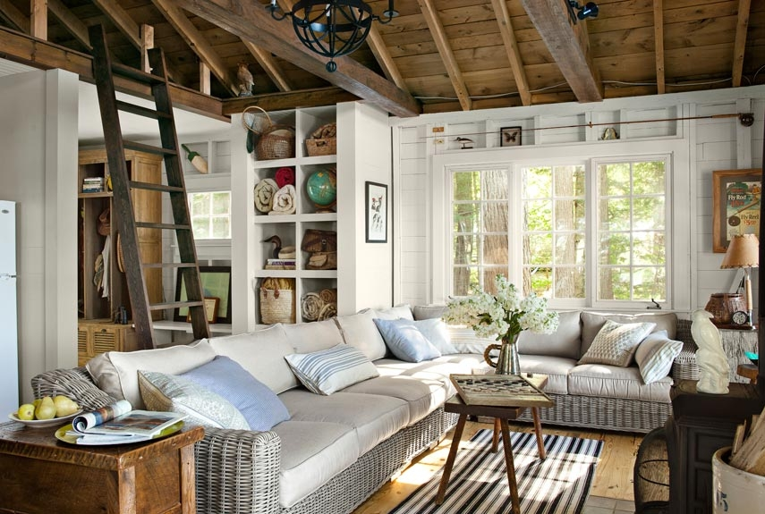 the inspirational cabin decorating ideas mytonix home design Beach Cabin Decorating Ideas