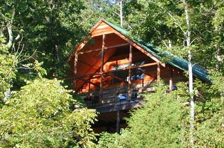 the mountain log cabin lookout secluded luxury lodging on the north Secluded Cabins In Missouri