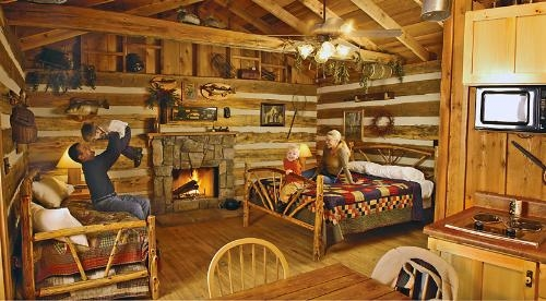 the wilderness at silver dollar city branson cabins Wilderness Cabins Branson Mo