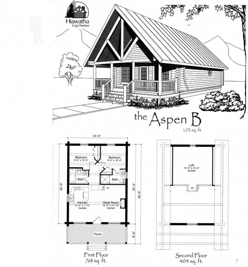 tiny house floor plans small cabin floor plans features of small Building A Small Cabin With Loft