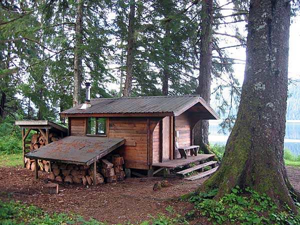 tongass national forest moser island cabin Tongass National Forest Cabins