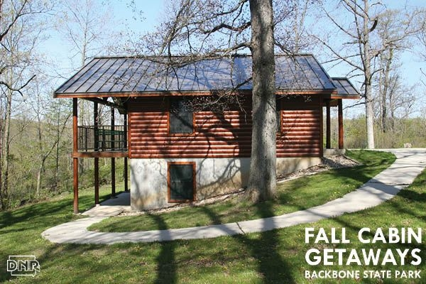 top iowa cabin fall getaways in 2018 iowa state parks pinterest Backbone State Park Cabins