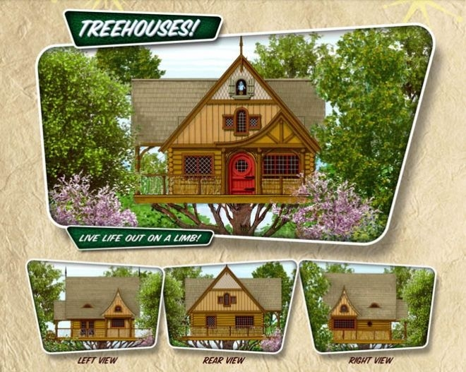 treehouse cabins branson design and ideas Treehouse Cabins Branson Mo