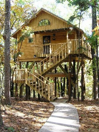 treehouse cottages updated 2018 prices campground reviews Treehouse Cabins In Eureka Springs