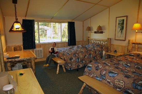 western cabin interior picture of lake lodge cabins yellowstone Yellowstone Lake Lodge Cabins
