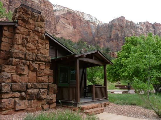 western cabin picture of zion lodge zion national park tripadvisor Cabins Near Zion National Park