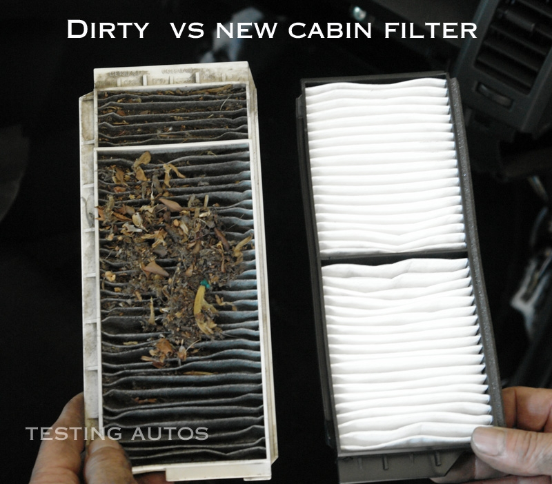 when a cabin filter should be replaced in a car Cabin Filter Vs Air Filter