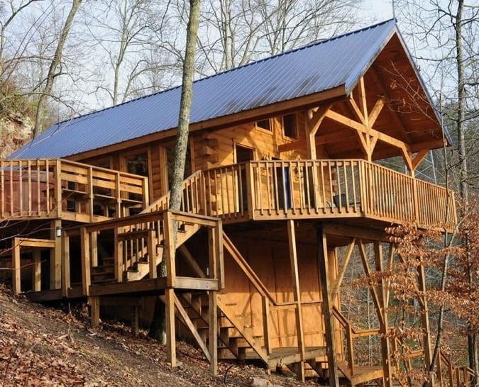 where to stay in red river gorge slade natural bridge Cabins Near Red River Gorge