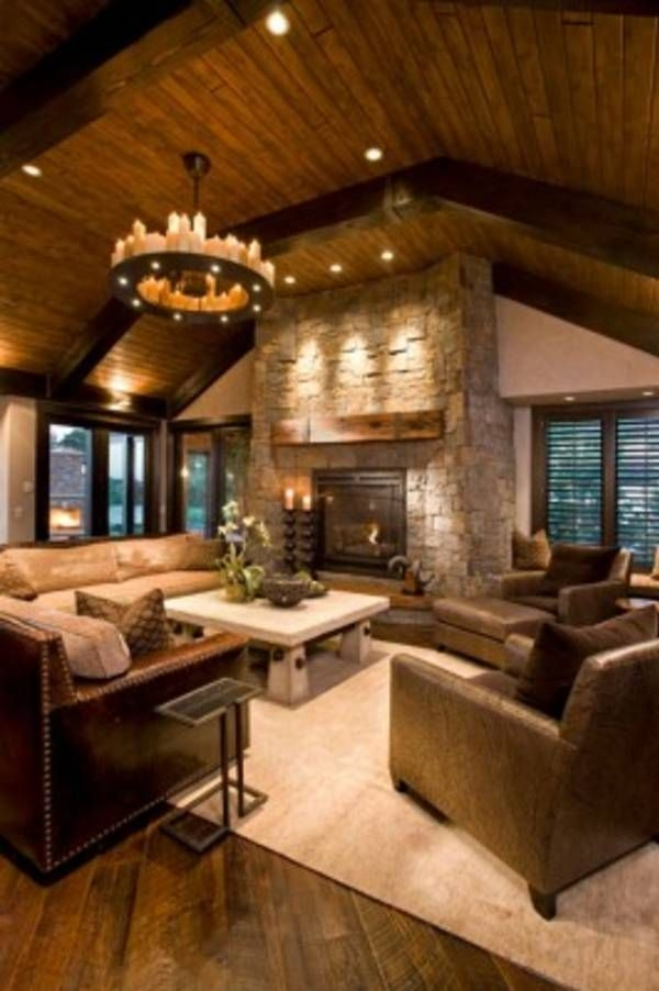 47 extremely cozy and rustic cabin style living rooms cabin ideas Country Cabin Living Room Ideas