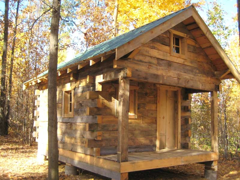 a cabins to go small n rustic log cabin relaxshaxs blog Tiny House Log Cabin Floor Plans