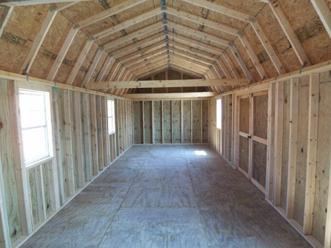 baml 12x40 shed plans 14x40 Side Lofted Barn Cabin Floor Plans
