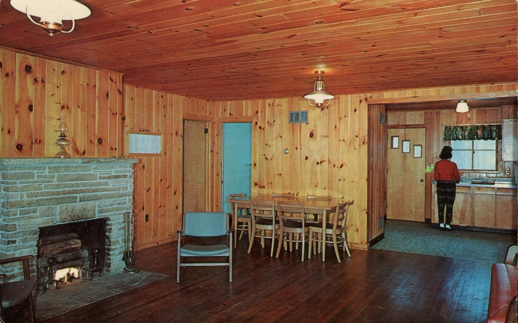 cabin interior lost river state park west virginia flickr Lost River State Park Cabins