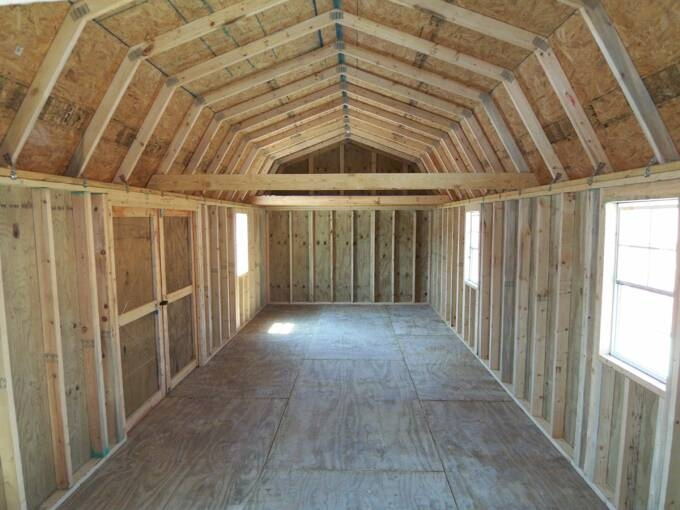 free lofted barn shed plans ollie 14x40 Side Lofted Barn Cabin Floor Plans