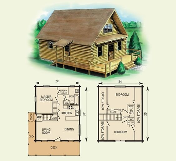 free small cabin plans Small Cabin Plans With Loft Free