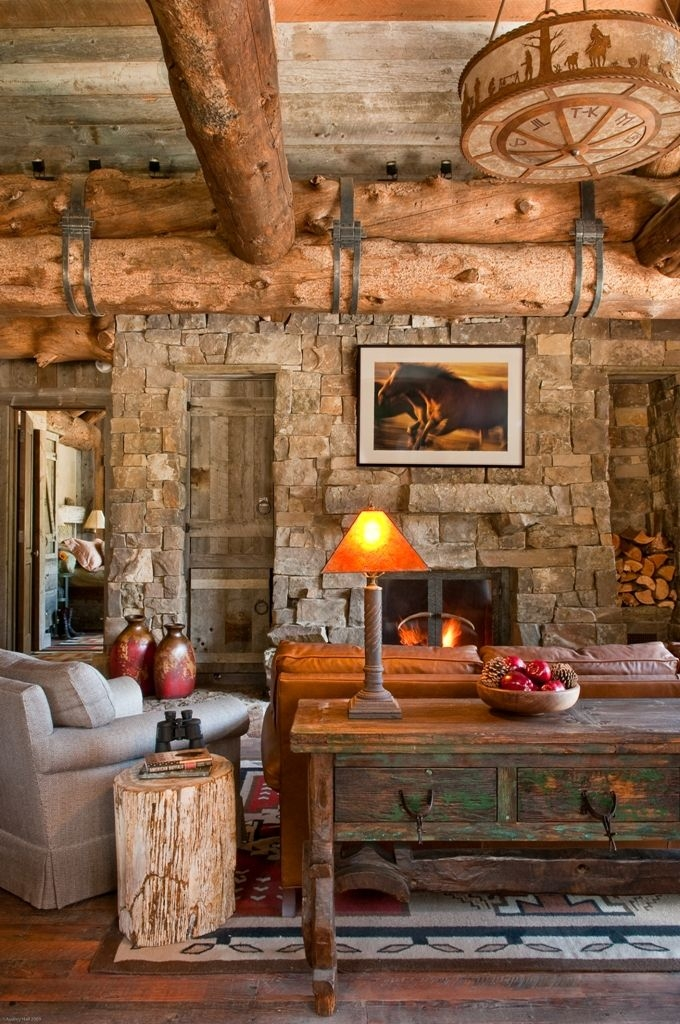 gorgeous rustic living room design ideas decor ideas pinterest Country Cabin Living Room Ideas
