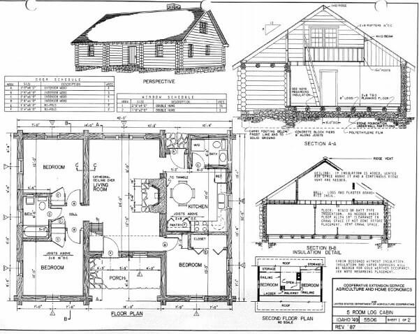 log home plans 40 totally free diy log cabin floor plans Small Cabin Plans With Loft Free